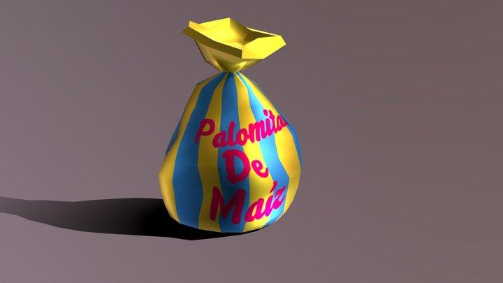 Bolsa De Palomitas 3D Model