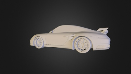 Porsche_911_GT2.obj 3D Model