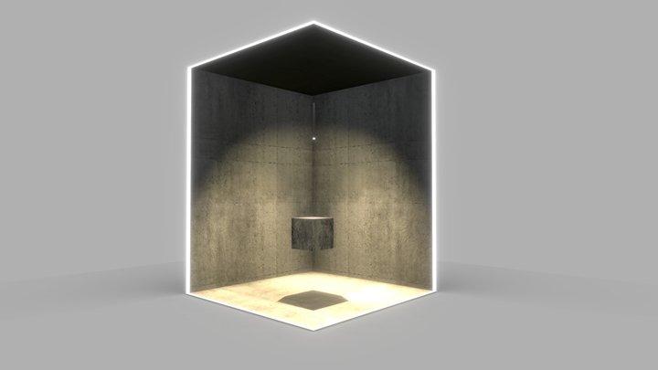 ShowRoom - Black Corner 3D Model