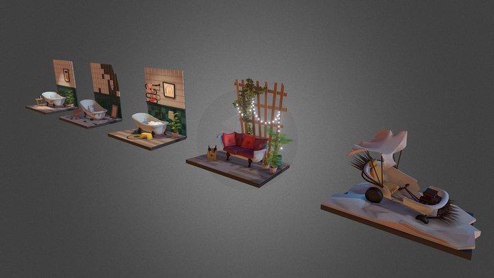 Homework 6 3D Model