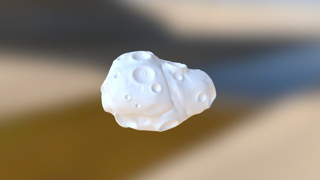 Day 4 Asteroid 3D Model