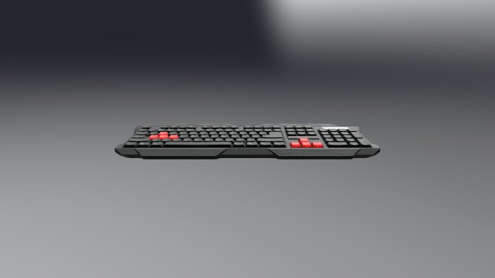Azza KB 3D Model