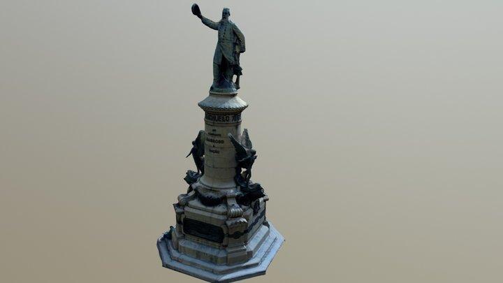 Escultura Riachuelo 3D Model