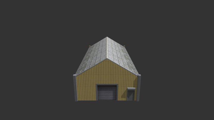 Factory Building 28 3D Model