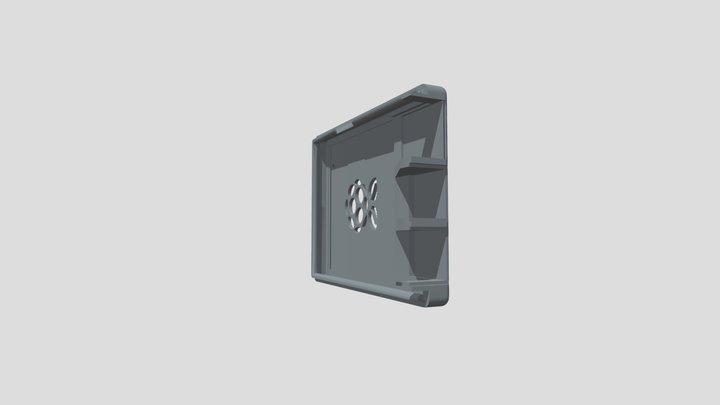 Raspberry Pi 3 Case (No Screws) Top 3D Model