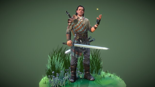 Bard's Tale IV by Concept 4 3D Model