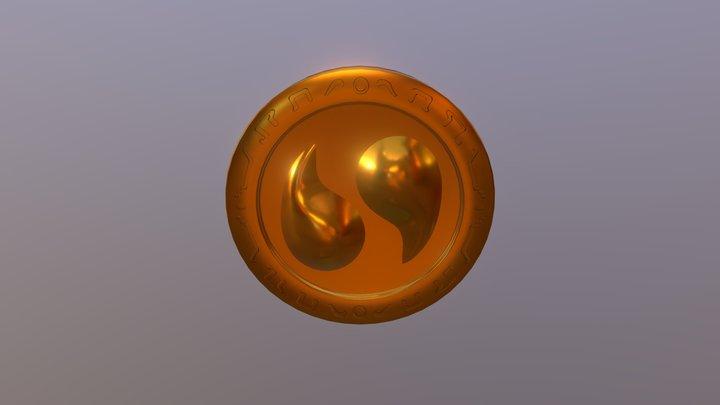 Legend of Zelda-OoT: Spirit Medallion 3D Model