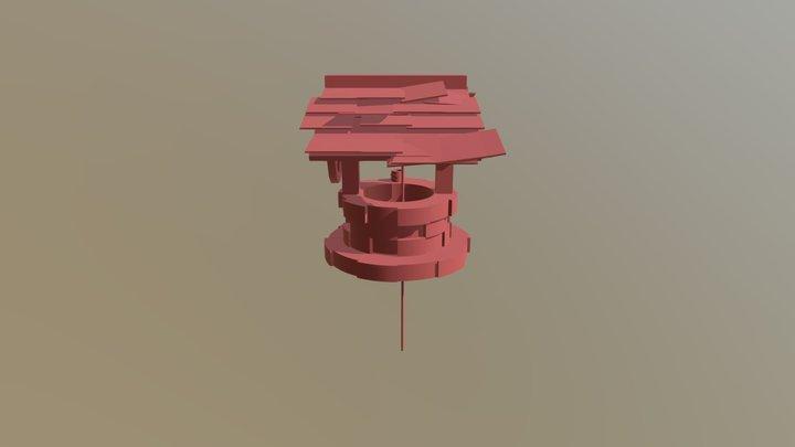 Pozo 3D 3D Model