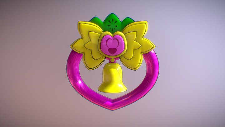StrawBell Bell 3D Model