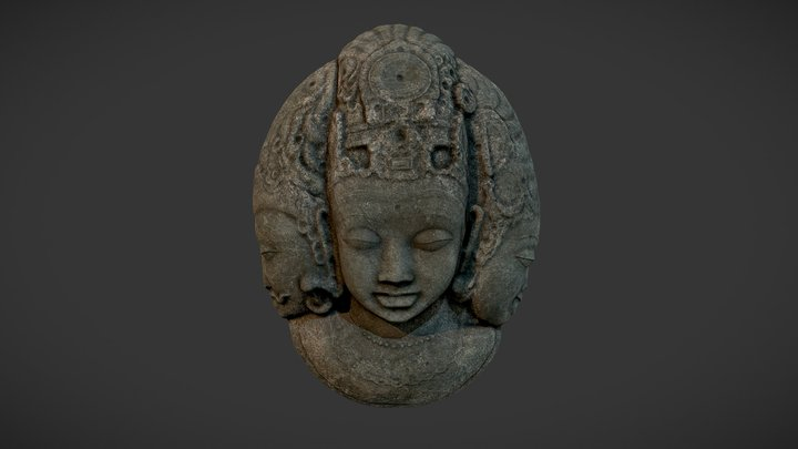 Tribal Mask 3D Model