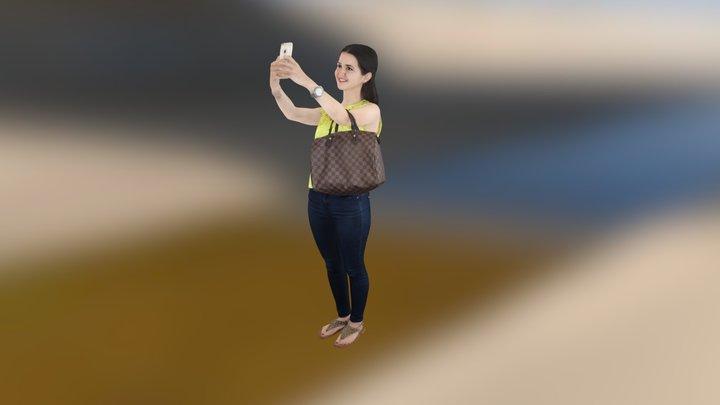 3D Selfie 3D Model