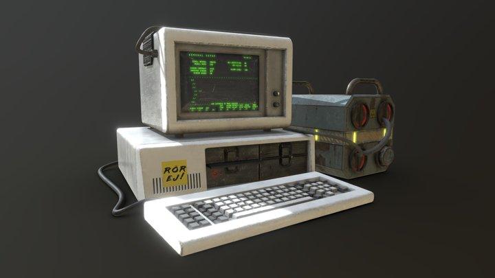 Cyberputer 3D Model