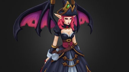 Bewitching Morgana 3D Model