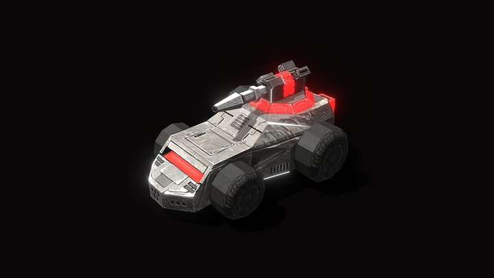 RED | Weasel 3D Model