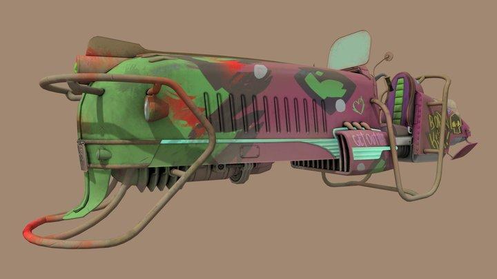 Punk_Hovercraft 3D Model