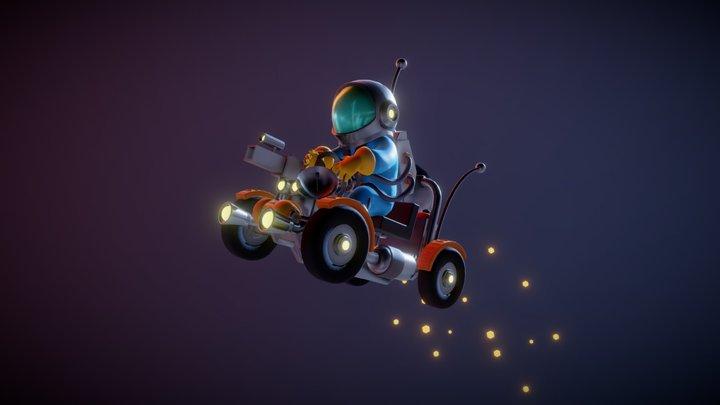 Astronaut 3D Model