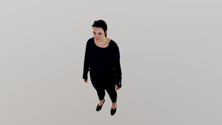 Sinead 3D Full Body Scan 3D Model