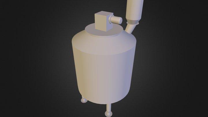 Prefermenter 3500L 3D Model