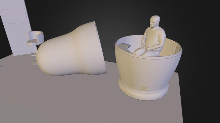 TRA1930 stand v3web1.obj 3D Model
