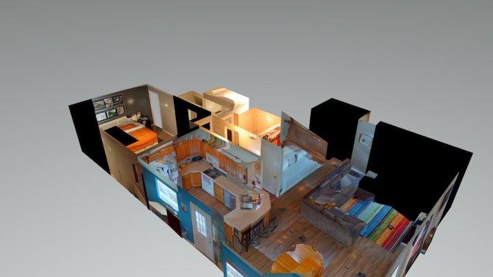 Main floor of home 3D Model