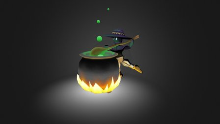 Potion Brewing 3D Model
