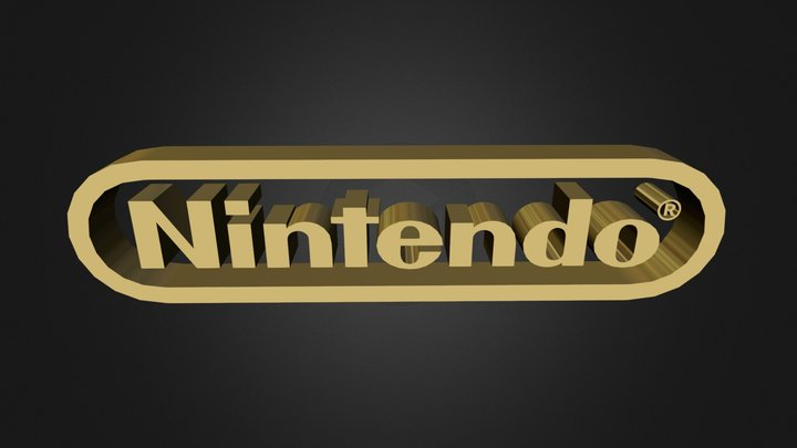 Nintendo Logo.zip 3D Model