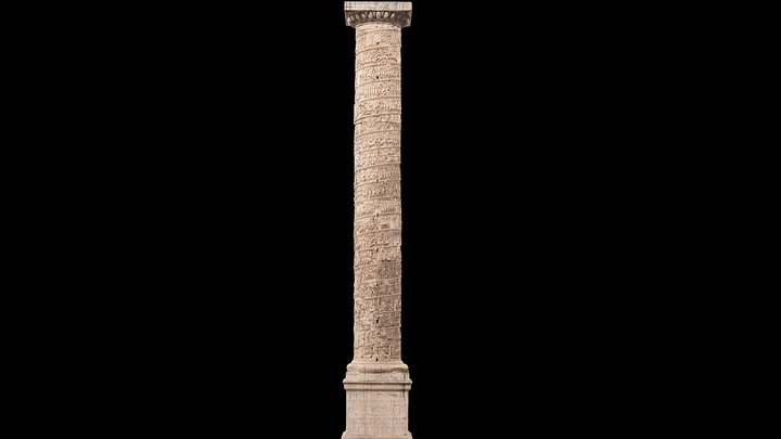The Column of Marcus Aurelius 3D Model