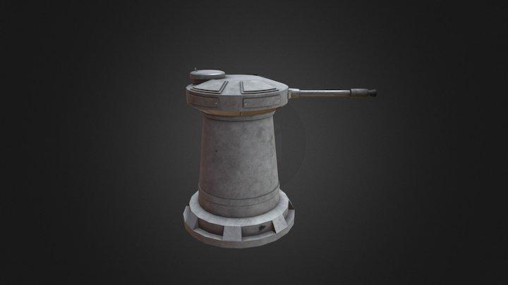 DF-9 Turret 3D Model