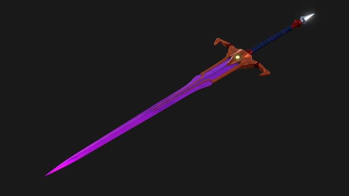 Corrupt sword 3D Model