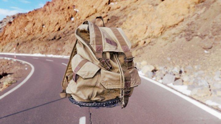 Backpack (photogrammetry) 3D Model