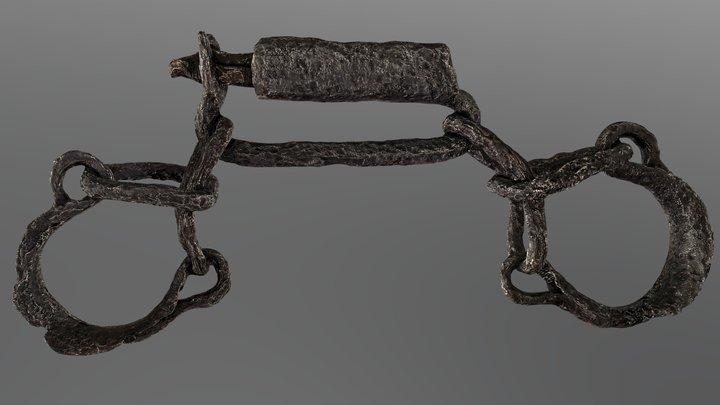 Liestal, Fussfessel 3D Model