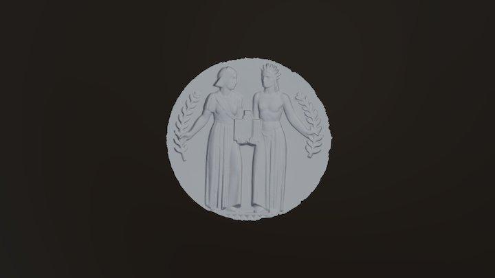 Alfarez medallion 3D Model