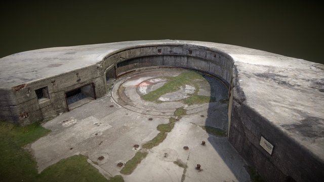 Culver Battery, Isle of Wight 3D Model