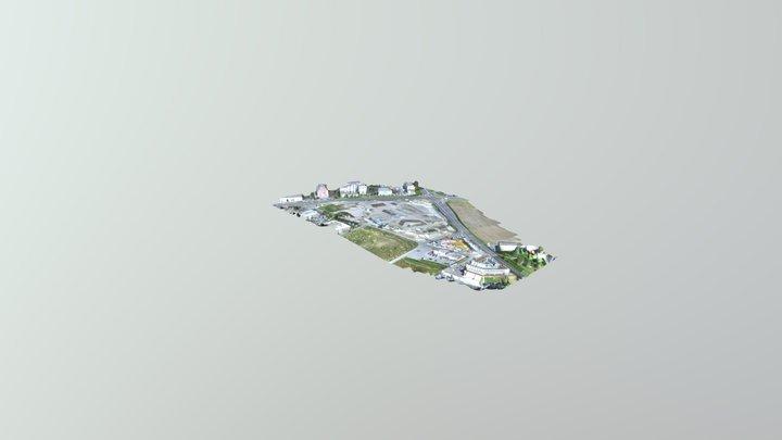Seguimiento de Sitio de Construcción 3D Model