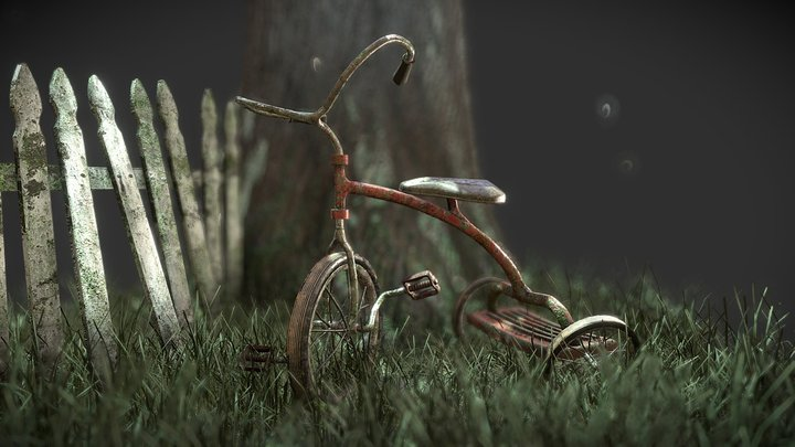 Lost in the Woods 3D Model