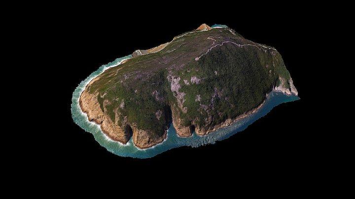 Hong Kong Global Geopark 香港世界地質公園 3D Model