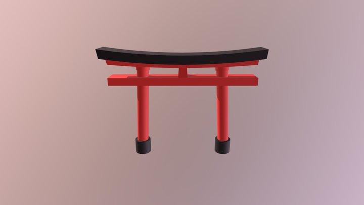 Torii Gate (Basic WIP) 3D Model