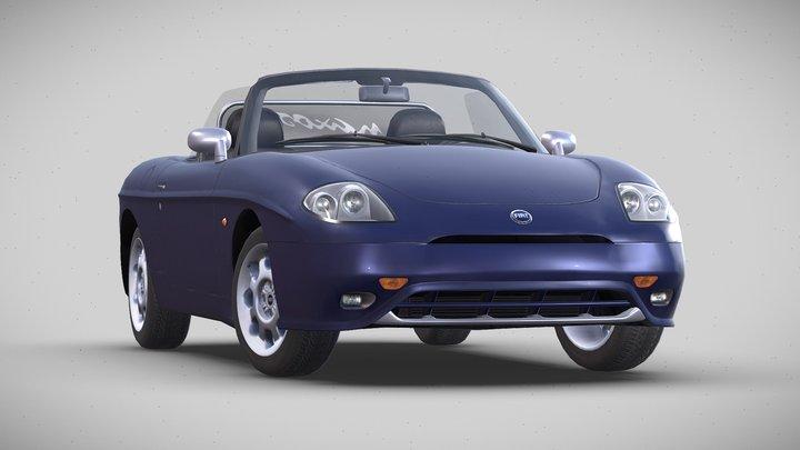 "Fiat Barchetta ""Naxos"", 2001 3D Model"