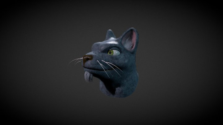 Fur Test 01 3D Model