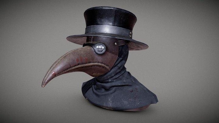 Plague Mask 3D Model