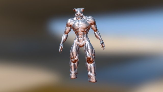 Baron Idle1 3D Model