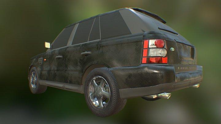 Range Rover Sport lowpoly model 3D Model