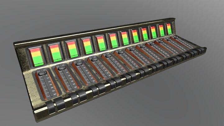 Mixer 01 3D Model