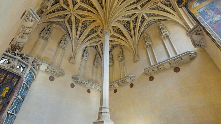 Paris, Musée de Cluny - Chapel 3D Model