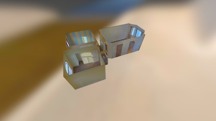 Easy VR Creation: Multiple Rooms In Minutes 3D Model