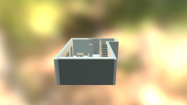 Projet BEL réaménagement rez-de-chaussée 3D Model