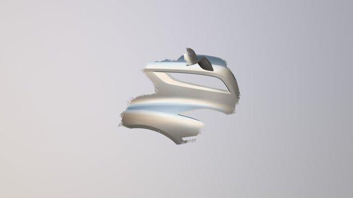 Truck Mesh 3D Model
