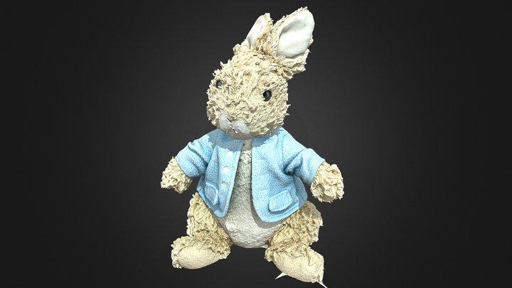 #RCToyChallege Peter Rabbit 3D Model