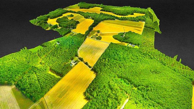 Private Farm 3D Model
