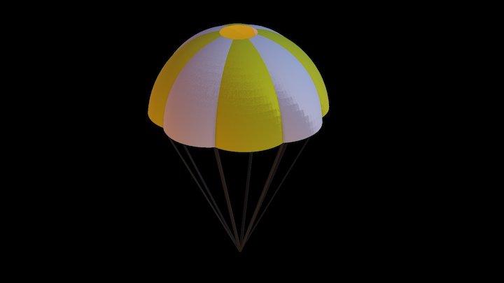 2018 NASA Drogue Parachute 3D Model